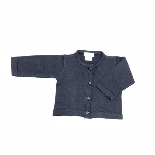Dondolo Navy Simple Sweater