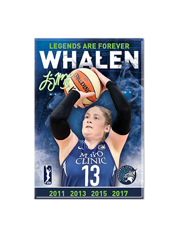 Minnesota Lynx Face Decal Set - 6 pk