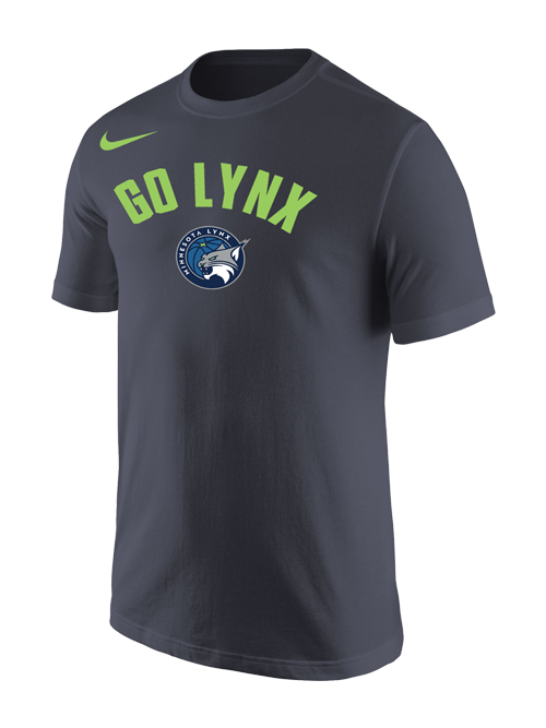 Minnesota Lynx Core Cotton Go Lynx T-Shirt