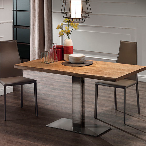 Elvis Wood Rectangular Dining Table