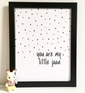 You Are My Little Jaan Print