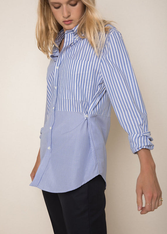 Madison Shirt in Combo Stripe