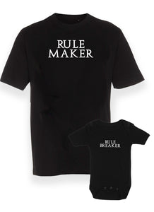 Rule maker & rule breaker - sæt (2 dele)