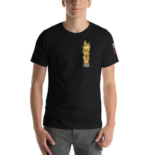 Oscar for Stunts Shirt (on Fire)