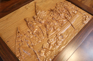 Washington Crossing the Delaware - Hudson Woodworking