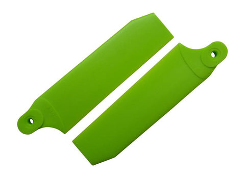 KBDD Neon Lime 84.5mm Extreme Tail Rotor Blades #4090