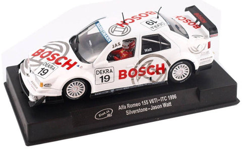 "Slot It ""Bosch"" Alfa Romeo 155 V6TI - 1996 ITC 1/32 Scale Slot Car CA45A"