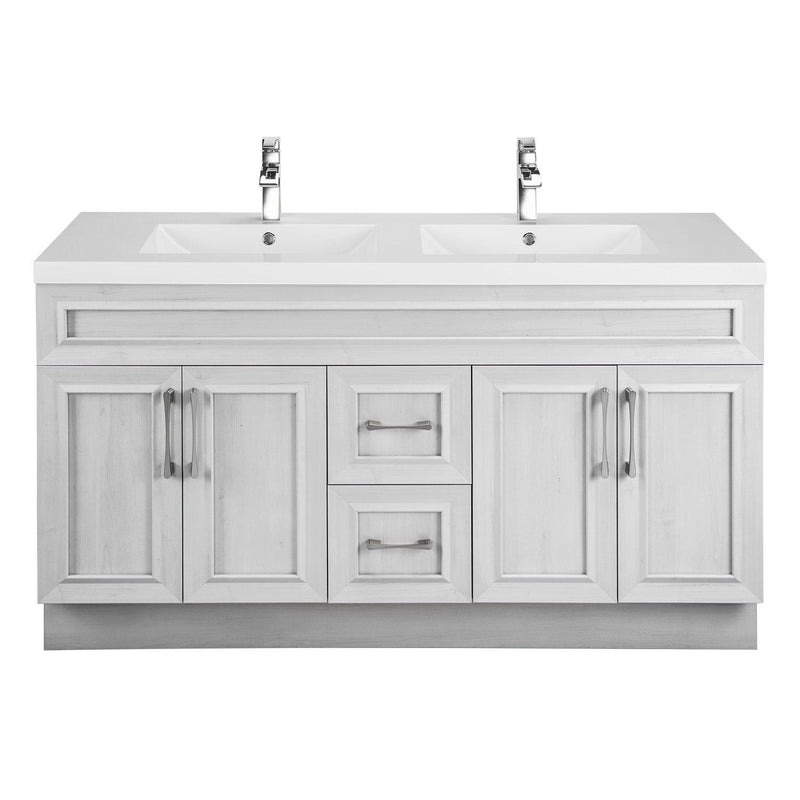 Cutler Kitchen & Bath Classic 60 in. Transitional Double Bathroom Vanity-Cutler Kitchen & Bath-Meadows Cove-themodernvanity