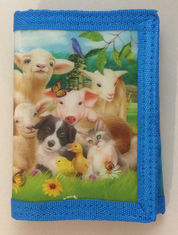 YOUNG ANIMALS 3D Wallet