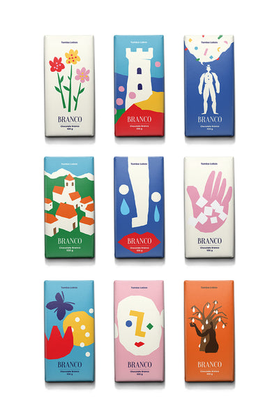 Graphic Art & Illustration : Branco Chocolate Packaging