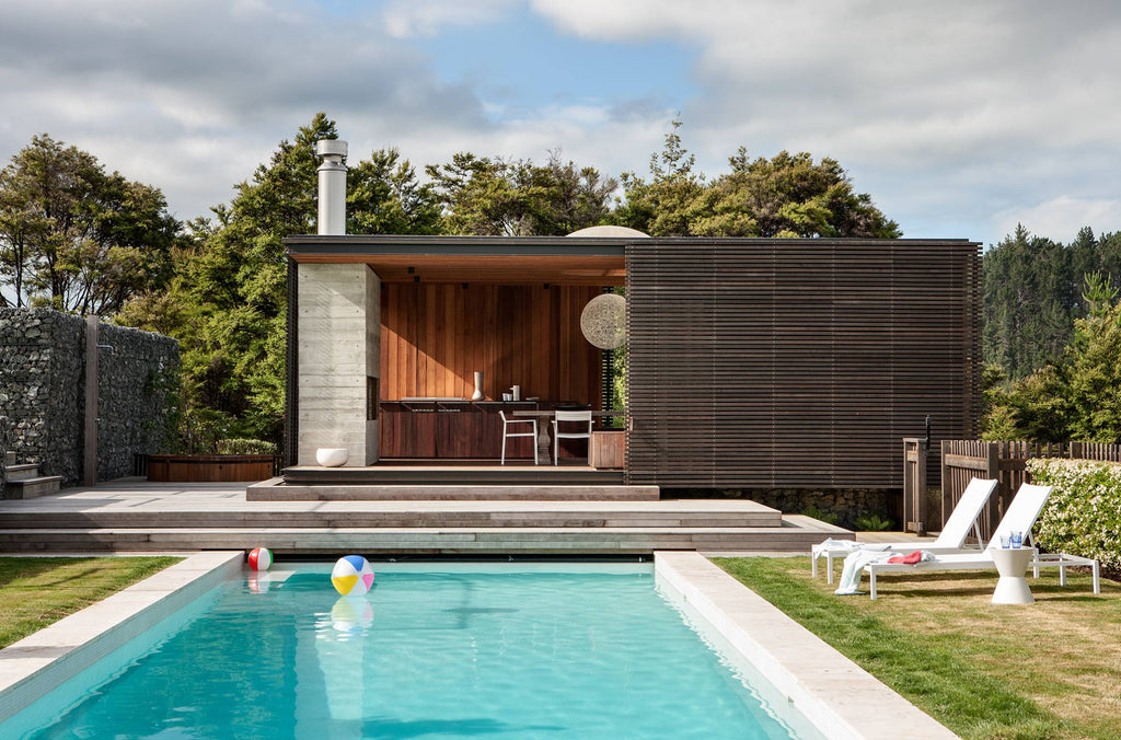 New Zealand Architecture | Outdoor pool