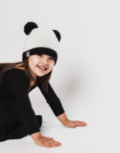 The Panda Hat - Helpa Break the Cycle of Poverty - Give Back Goods