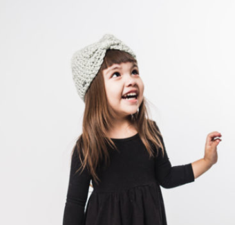 Sophia Jr. Child's Beanie Hat- Break the Cycle of Poverty! - Give Back Goods