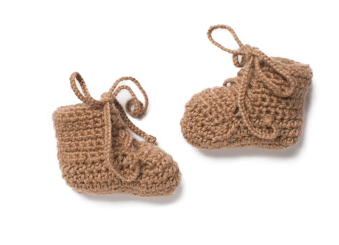 Handmade Crochet Baby Shoes- Help Break the Cycle of Poverty! - Give Back Goods