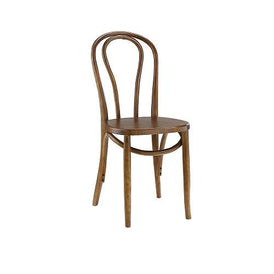 Bistro Bentwood Series Side Chair Walnut Or Black Finish