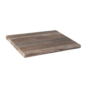 Weathered Ceramic Barn Board Restaurant Table Top In-Outdoor