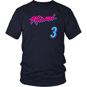 Miami Heat #3 shirt