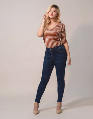 Stretch Skinny Fit Denim Jeans