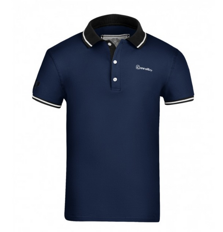 Cavallo international clothing for male equestrians. This short sleeve riding shirt for men is collared for schooling and showing.
