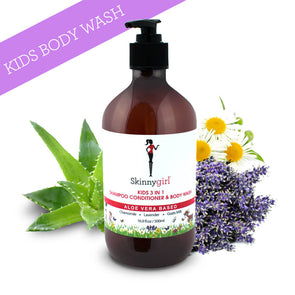 Skinnygirl Kids 3 In 1 Shampoo Conditioner & Body Wash