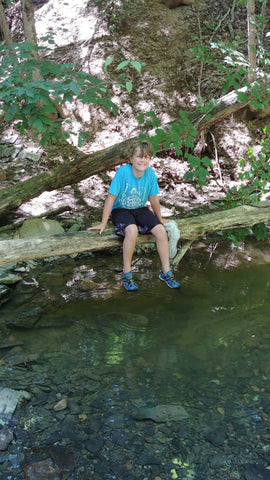 Creeking at Shale Hollow