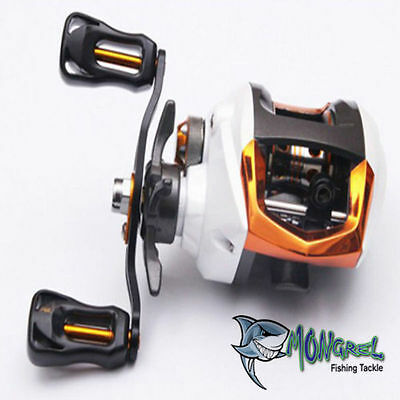 New Warrior RH Bait Caster Fishing Reel BAIT CASTING REEL Kayak Fishing