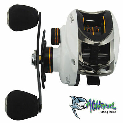 New BAIT CASTER FISHING REEL,BAIT CASTING REEL, Kayak Fishing, shore,boat RH