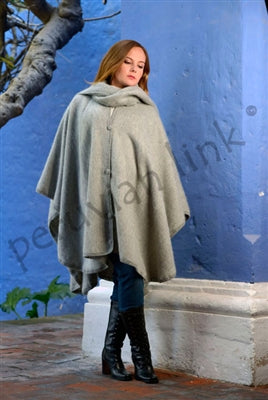 Lined Alpaca Cape