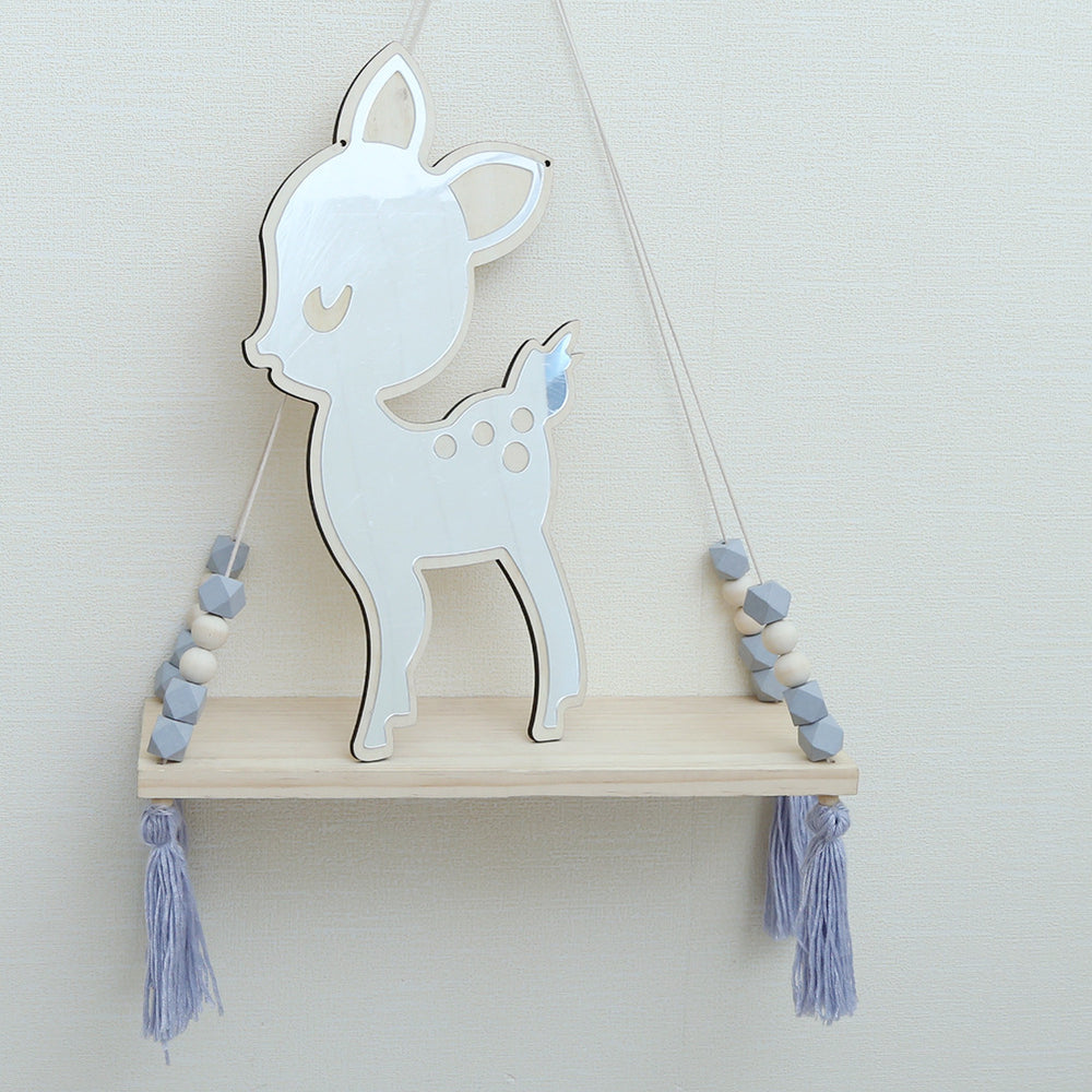 Boho Kids Deer Bedroom Mirror
