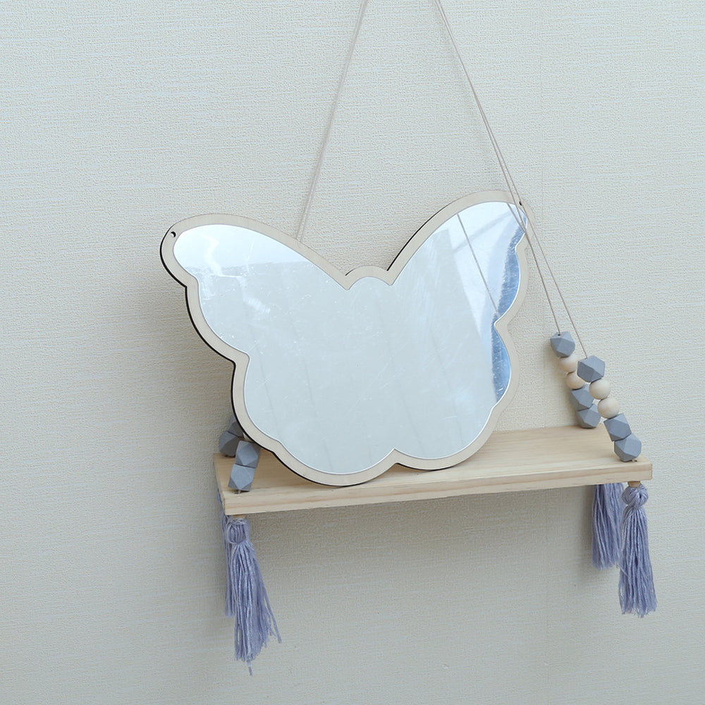 Boho Kids Big Butterfly Bedroom Mirror