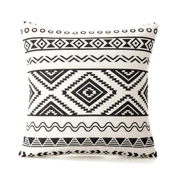 Memphis Boho Throw Pillow Cover