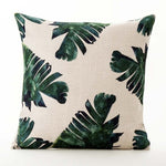 Jungle Boho Throw Pillow Cover
