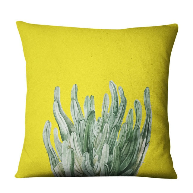Cereus Boho Throw Pillow Cover