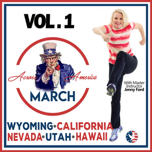 Vol. 1 March Across America 1-5 (Download) [Beginner]