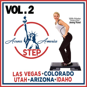 Vol. 2 Step Across America 6-10 (Download)