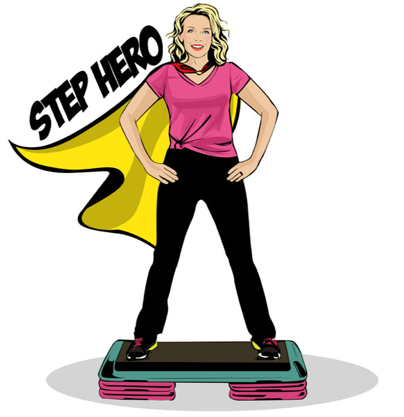 Step Hero is the most Dynamic and Comprehensive Learn to Step Program in the World!