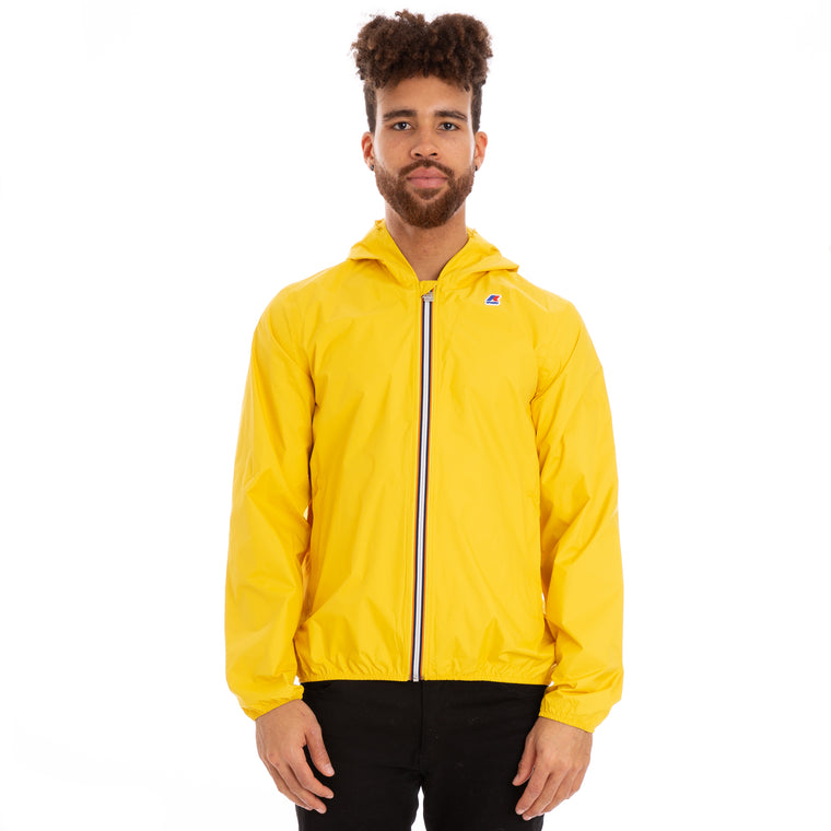 Men's Jack Plus Dot Full Zip Jacket Yellow Vintage