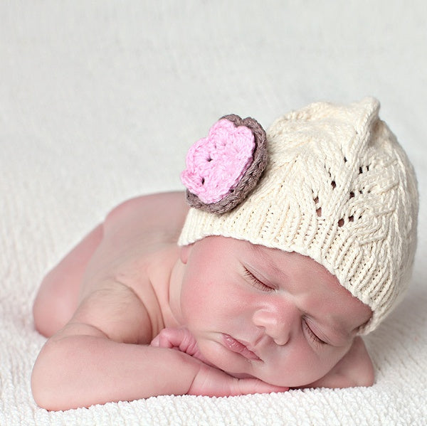 Peaches and Cream Classic Baby Beanie - Chizipoms