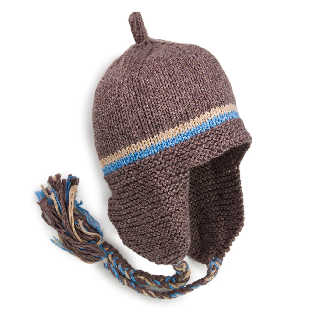 Snuggly Earflap Hat - Chizipoms
