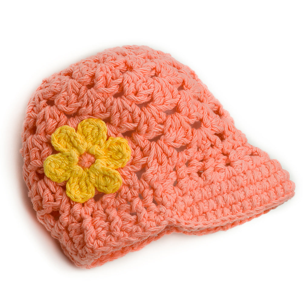 That's Just Peachy Knit Hat - Chizipoms