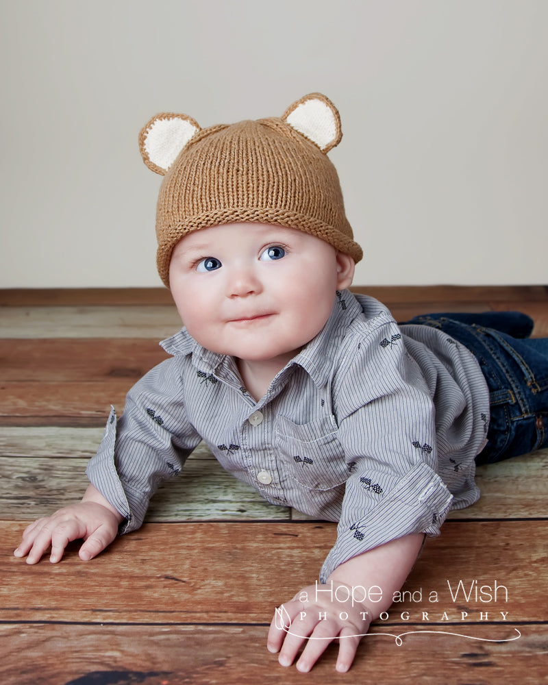 Mouse In The House Knit Baby Hat - Chizipoms
