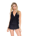 BLACK COSITA BUENA T-BACK MINI DRESS LULI FAMA L177979-001