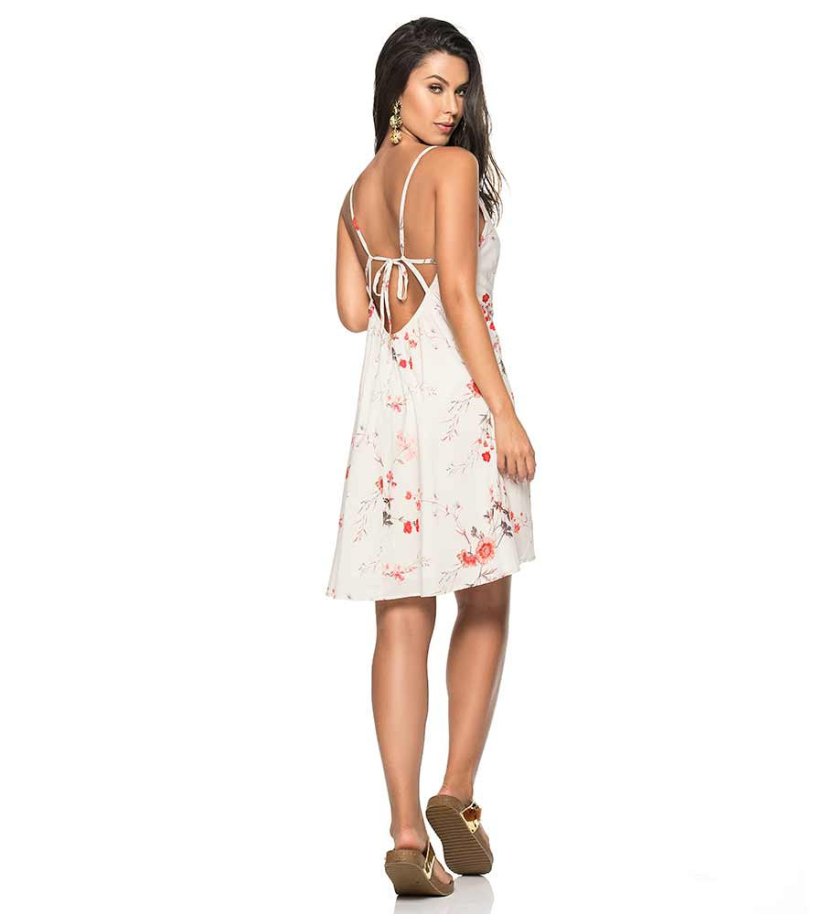 AURORA FLORAL SHORT DRESS PHAX PF11810369-253