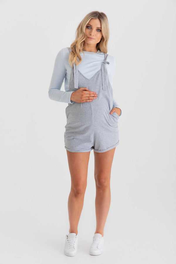 Maternity Playsuit Front Alt