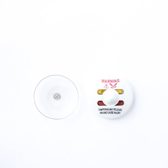 Circle Ink Tag White (New) - Sensormatic© Compatible 58KHz