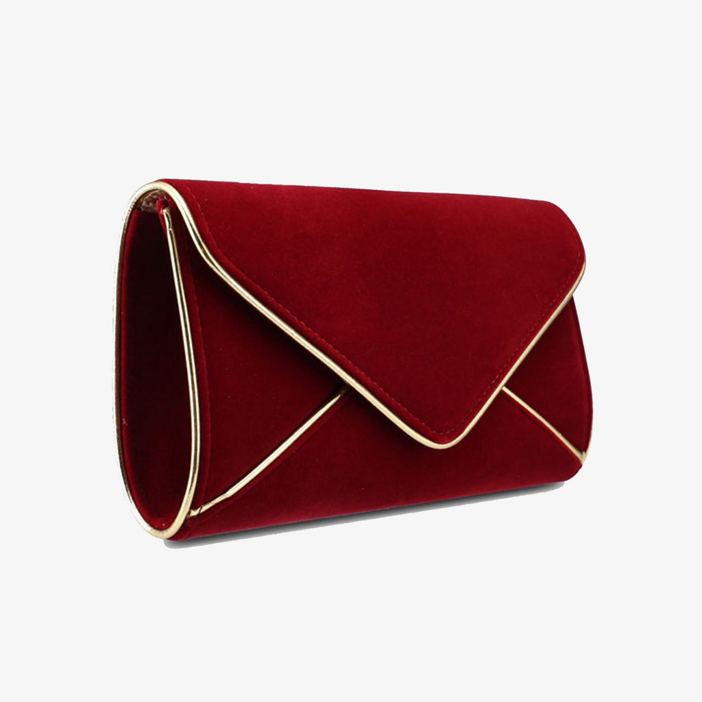 Outlined Envelope Clutch