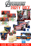 The Ultimate Avengers Party Printable Pack [INSTANT DOWNLOAD]