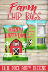 Farm Barnyard Chip Bags