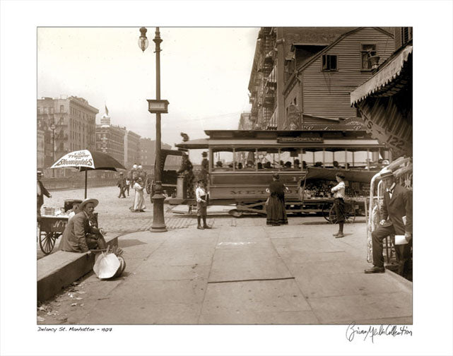 Delancy Street Manhattan 1907