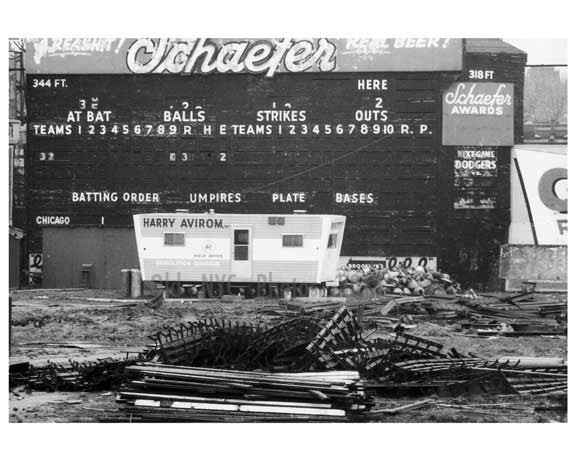 Ebbets Field  Demolition  - 1960 - Flatbush  - Brooklyn NY 4